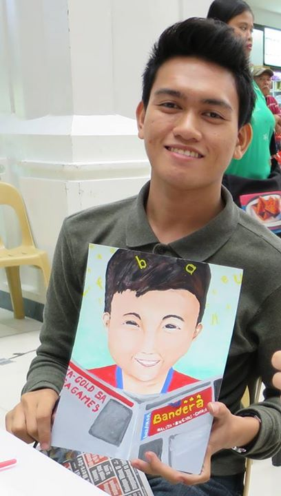 Artist: ROMNICK DAVID of Siena College, Quezon City (Photo by: Rona Paredes)
