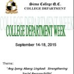 College Department Week Program-cover