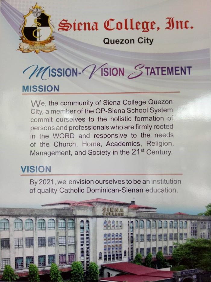 MISSION - VISION STATEMENT